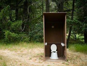 Camping toilets